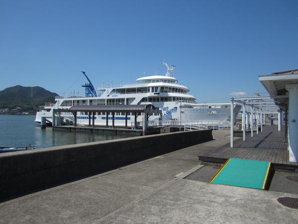 新岡山港のおりんぴあどりーむ