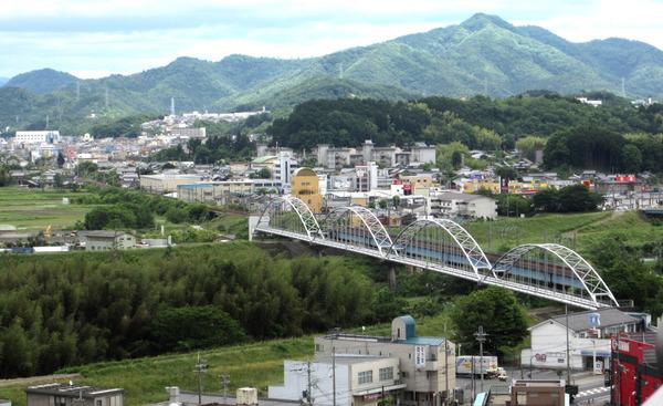 福知山城天守閣からの風景1