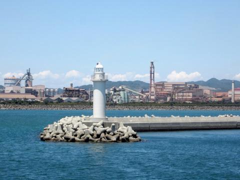 和歌山港の小さな灯台