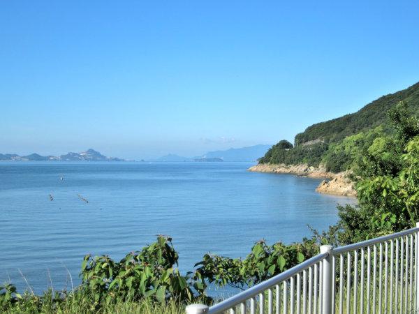 道の駅みつから海の風景2