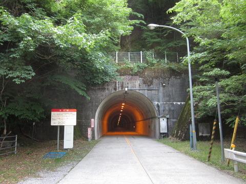 四ツ足峠トンネル高知県側出入り口