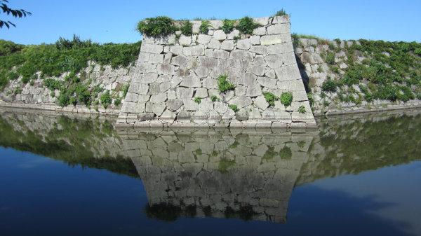 赤穂城址の石垣