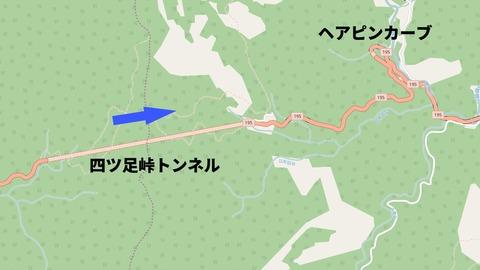 四ツ足峠トンネル地図_矢印入り