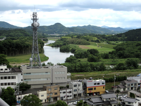 福知山城天守閣からの風景3