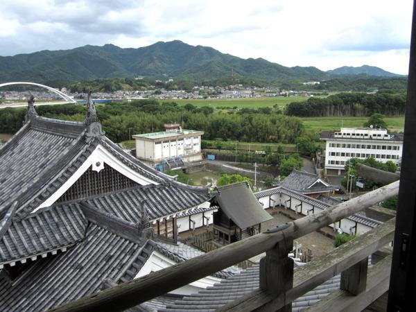 福知山城天守閣からの風景2