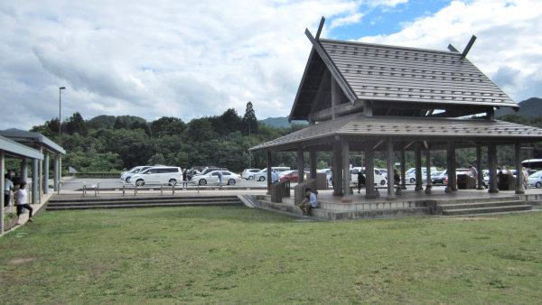 道の駅但馬のまほろば高速側駐車場