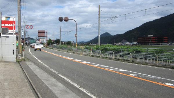 国道27号_上中駅付近